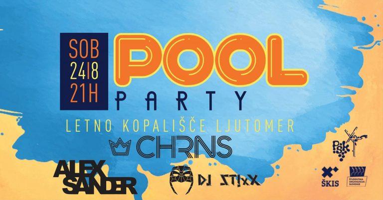 Pool Party portfolio